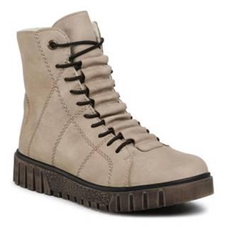 Šnurovacia obuv Rieker Y3420-60 Ekologická koža/-Ekologická koža
