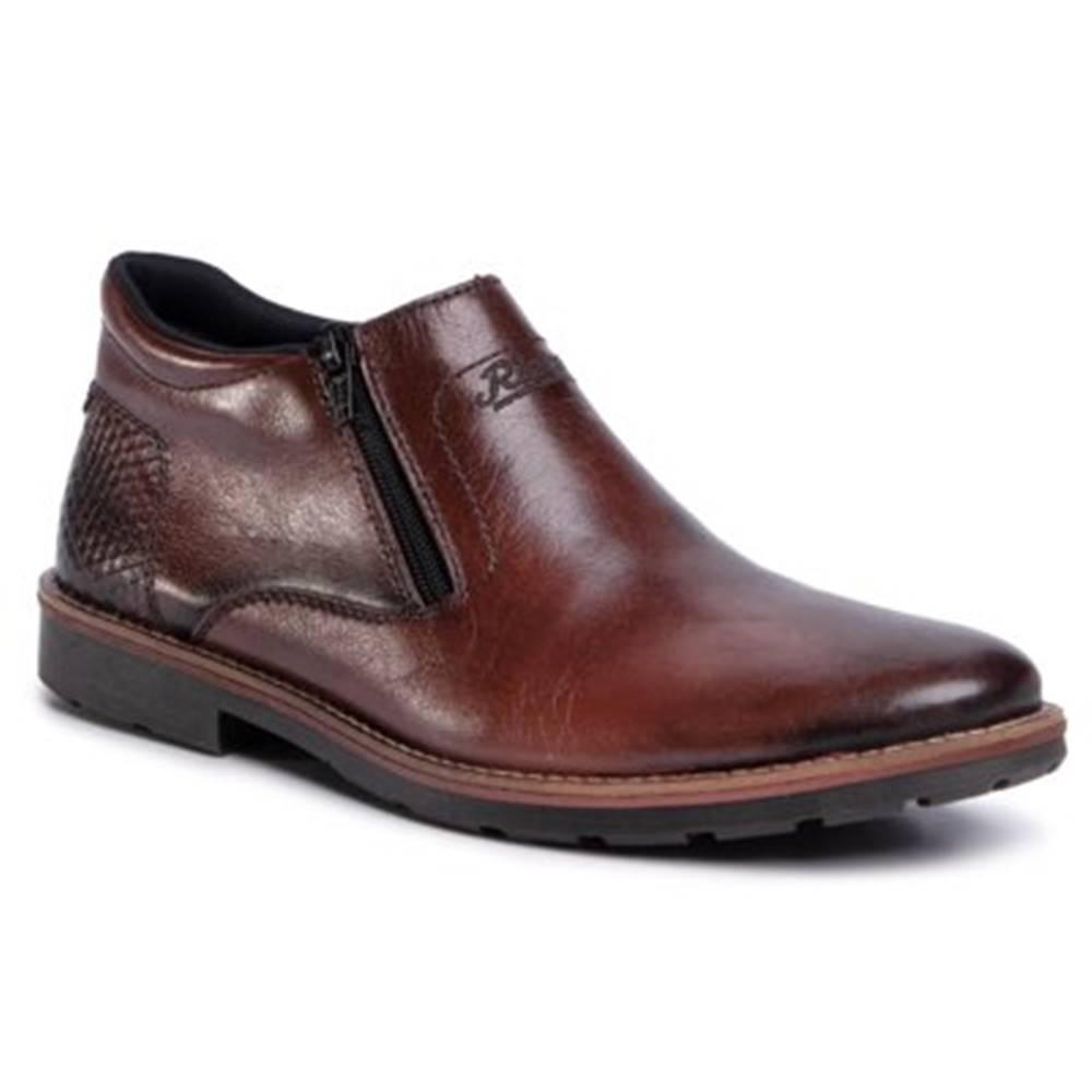 Rieker Členkové topánky Rieker 15398-25 Prírodná koža(useň) - Lícova