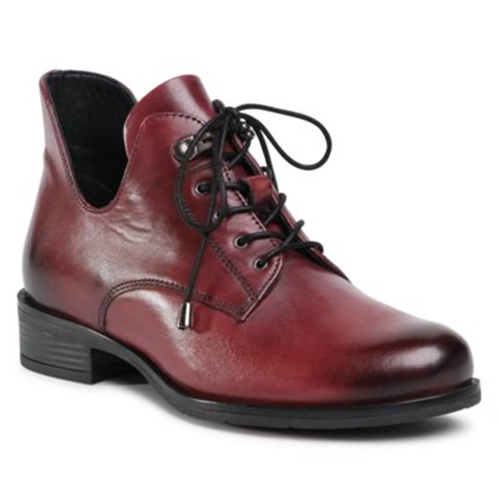 Lasocki Šnurovacia obuv Lasocki WI23-CIDA-03 Prírodná koža(useň) - Lícova