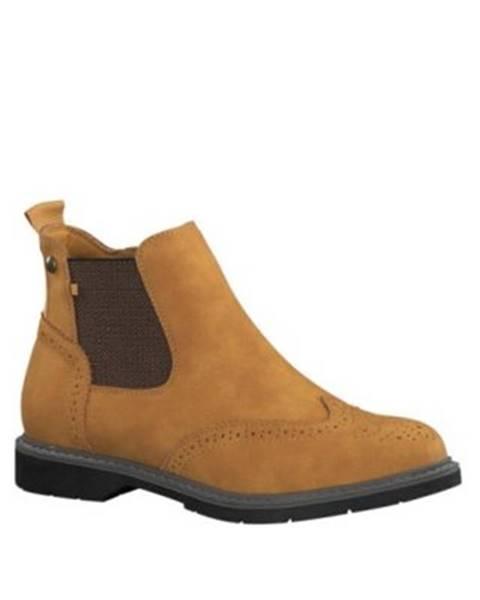 Žlté topánky s.Oliver RED LABEL