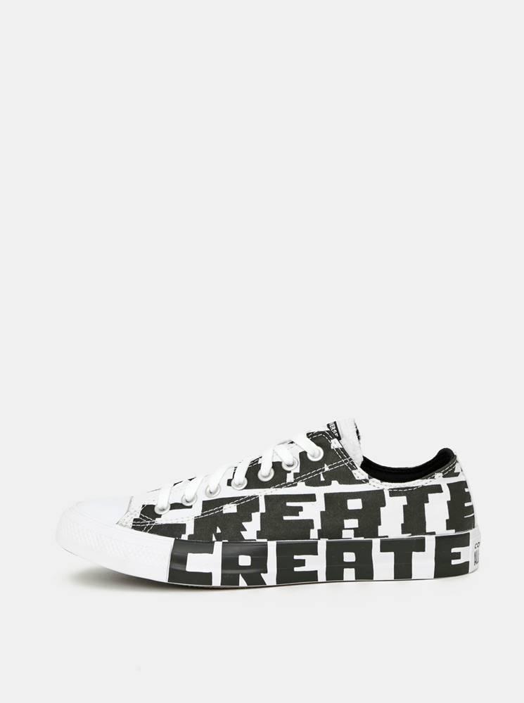 Converse Čierno-biele pánske tenisky Converse