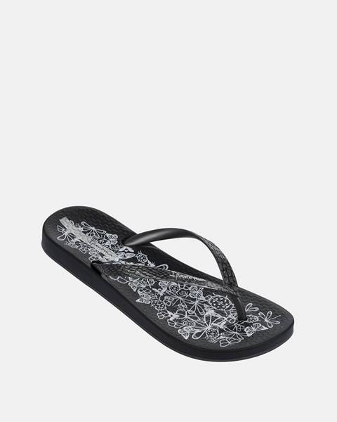 Čierne papuče Ipanema