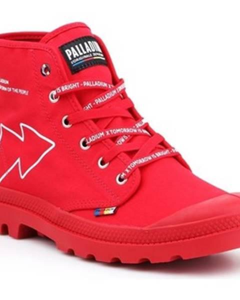 Červené tenisky Palladium