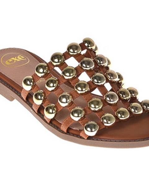 Hnedé topánky Exé Shoes