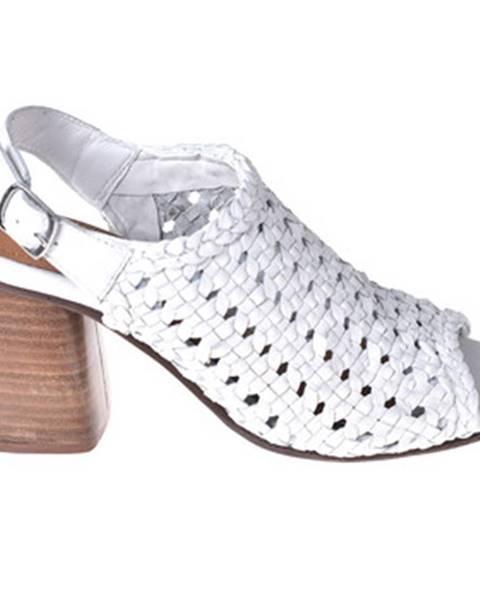 Biele sandále Onyx