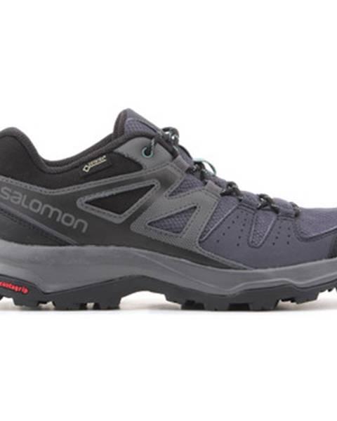 Fialové topánky Salomon