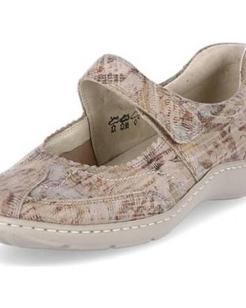 Béžové topánky Waldläufer