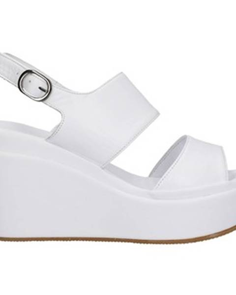 Biele sandále Café Noir