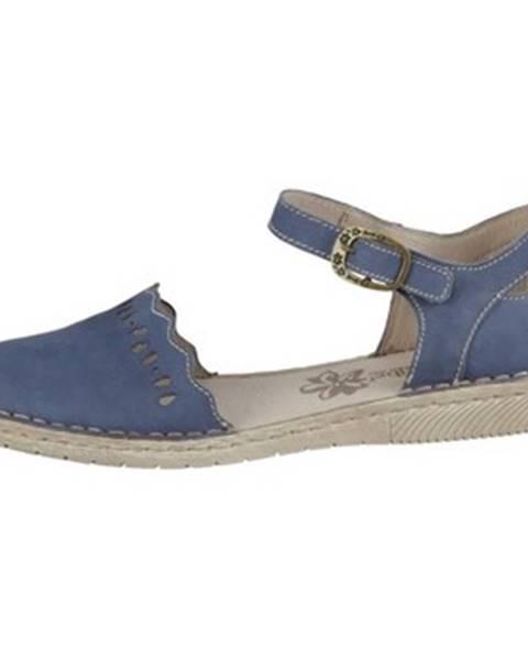 Viacfarebné sandále Josef Seibel