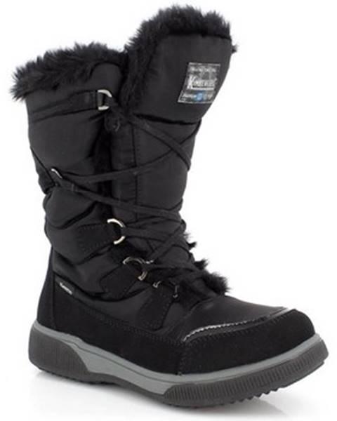 Čierne topánky Kimberfeel
