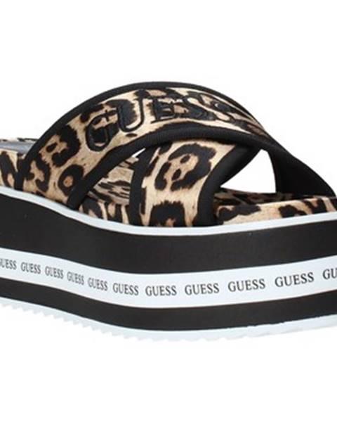 Viacfarebné topánky Guess