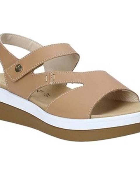 Béžové sandále Susimoda