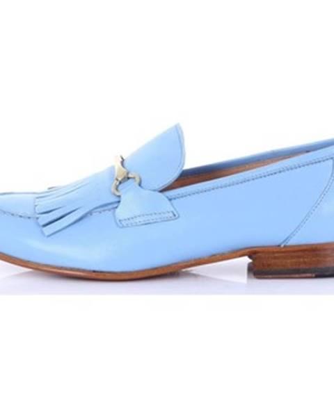 Modré mokasíny Seboy's