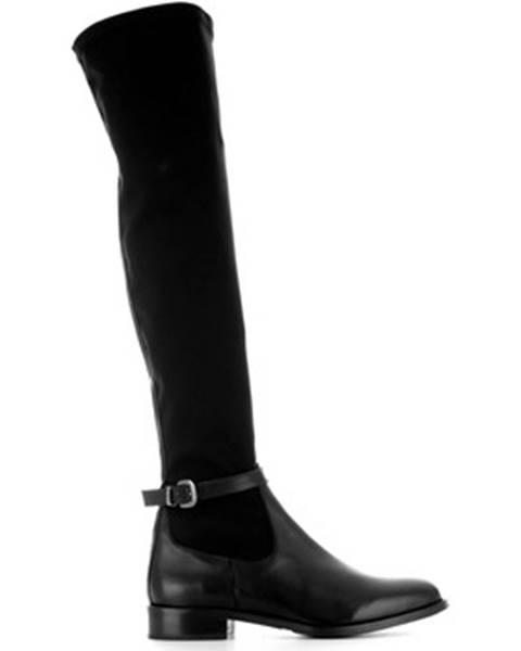 Čierne čižmy Chiarini Bologna