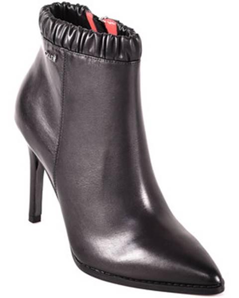 Čierne topánky Gaudi