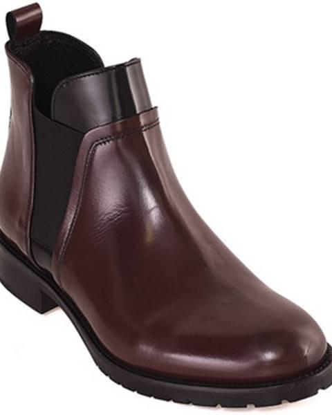 Bordové topánky Mally