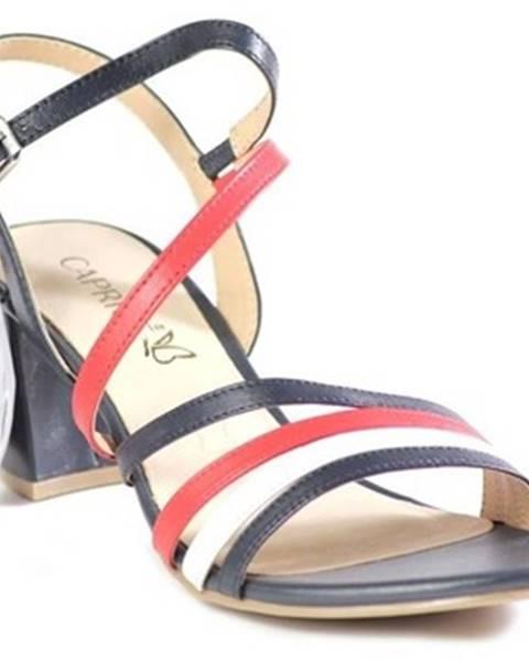 Viacfarebné sandále Caprice