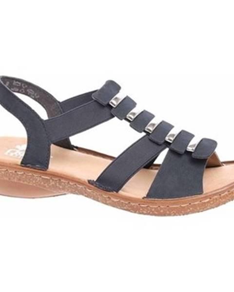 Viacfarebné sandále Rieker