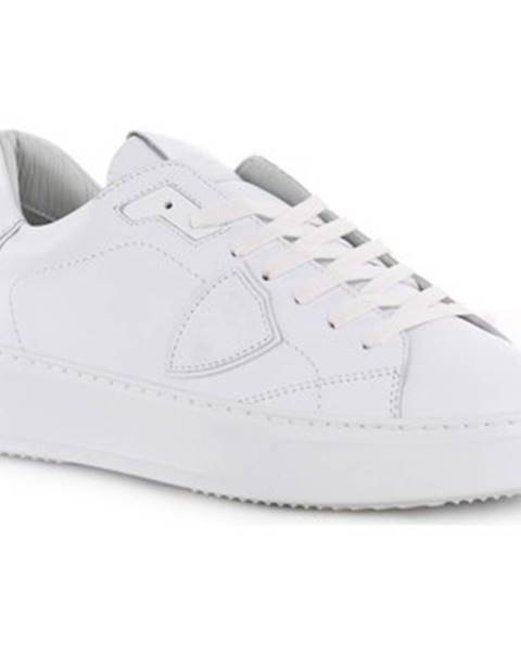 Biele tenisky Philippe Model