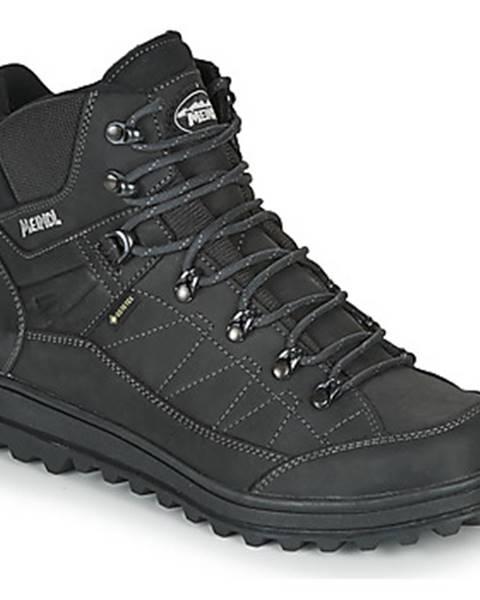 Čierne topánky Meindl