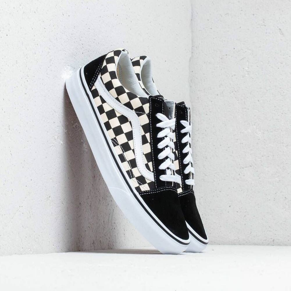 Vans Vans Old Skool (Primary Check) Blk/ White