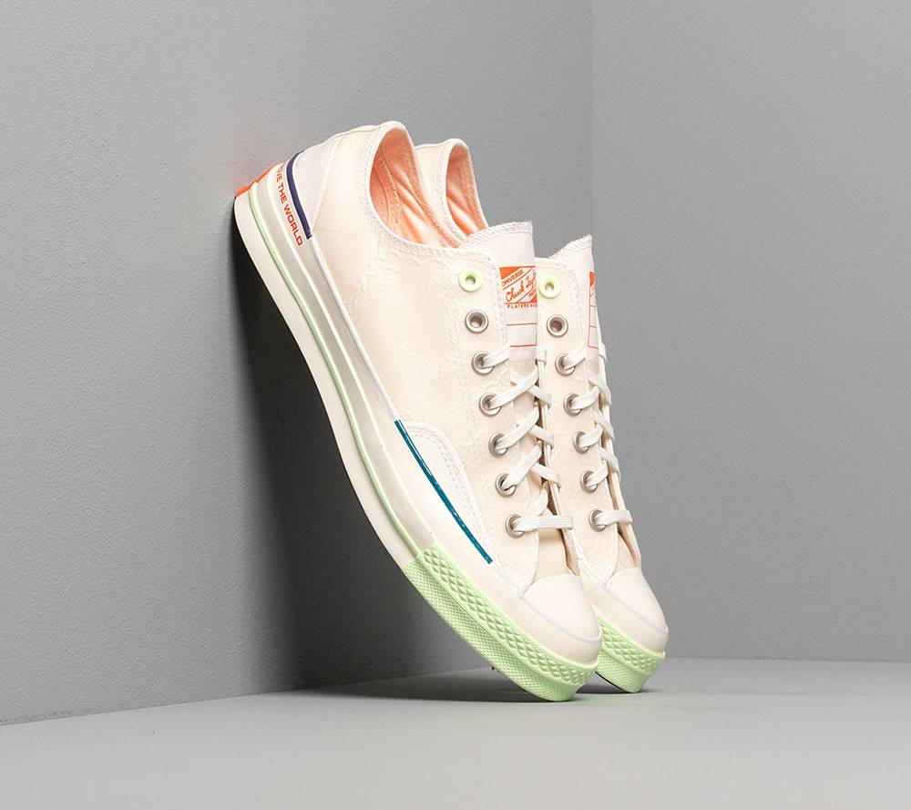 Converse Converse x Pigalle Chuck 70 OX White/ Vast Grey/ Barely Volt
