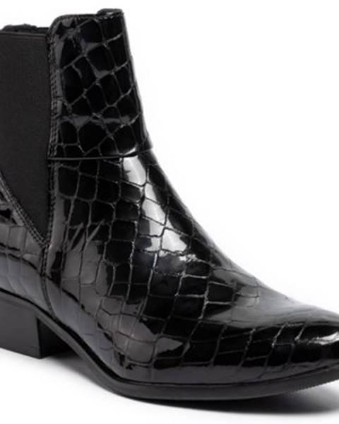 Čierne čižmy Gino Rossi