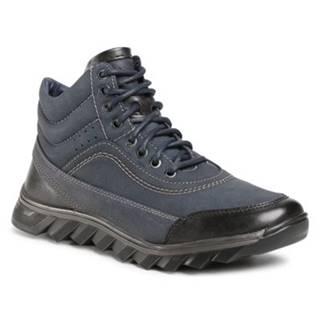 Šnurovacia obuv Lanetti MBS-RJUKA-01 Imitácia kože/-Imitácia kože