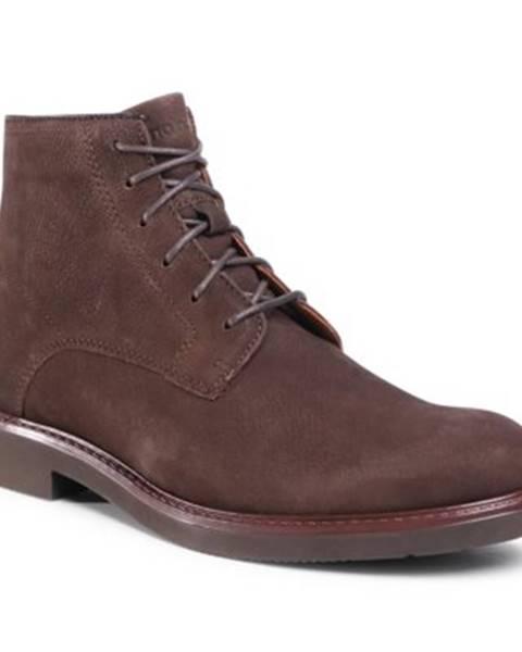 Tmavohnedé topánky Gino Rossi