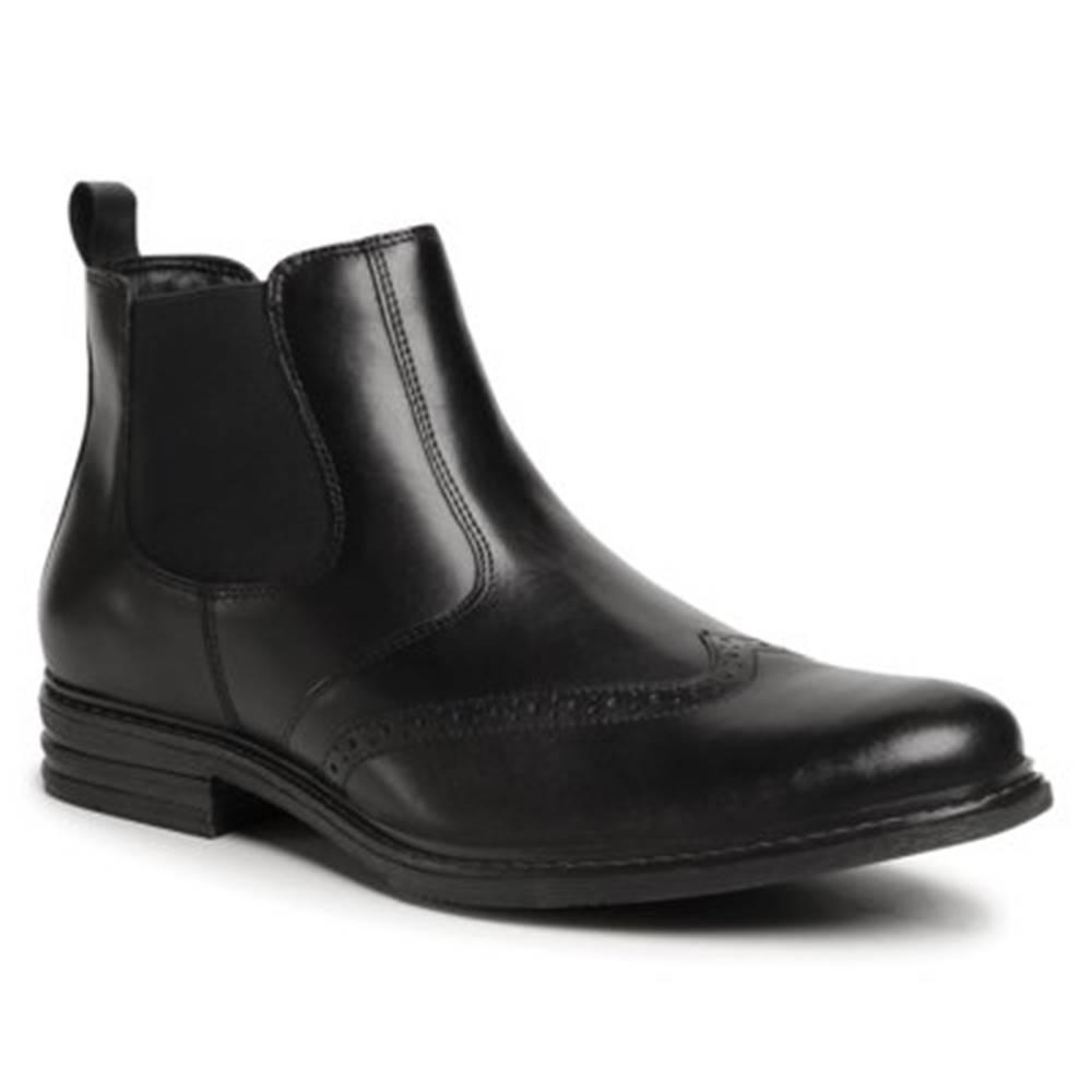 GO SOFT Členkové topánky GO SOFT MB-HAMAR-02 Prírodná koža(useň) - Lícova