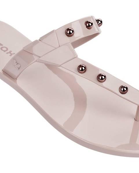 Krémové papuče Zaxy