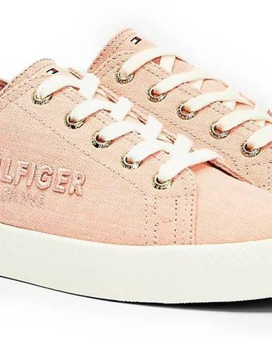 Ružové tenisky Tommy Hilfiger