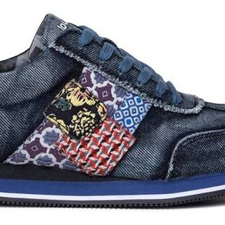 Desigual denimové tenisky Shoes Pegaso Patch