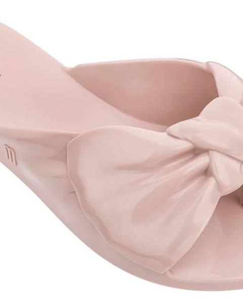 Krémové papuče Melissa