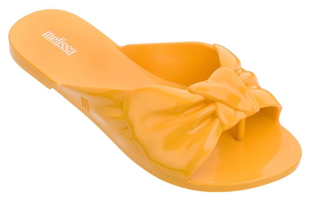 Melissa Melissa žlté žabky Rose Yellow