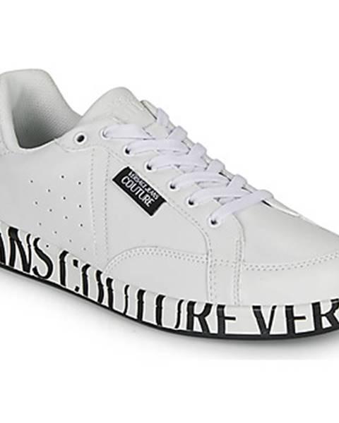Biele tenisky Versace Jeans Couture
