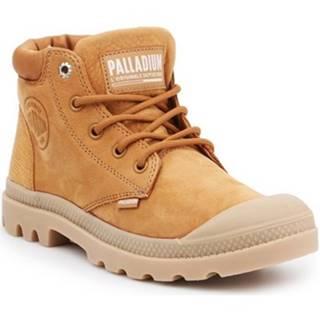 Členkové tenisky Palladium  Pampa LO Cuff LEA 95561-717-M