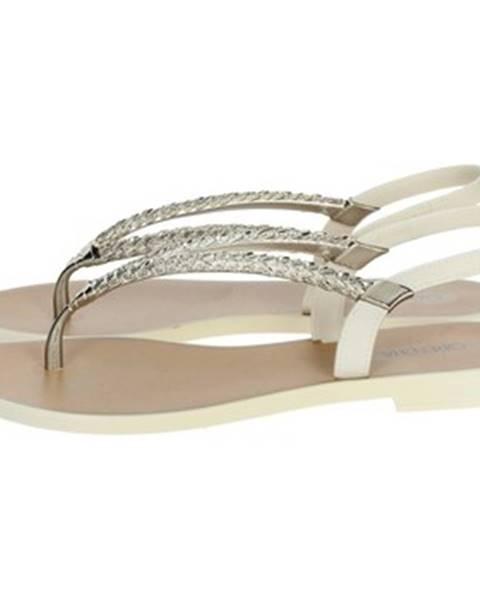 Béžové sandále Grendha