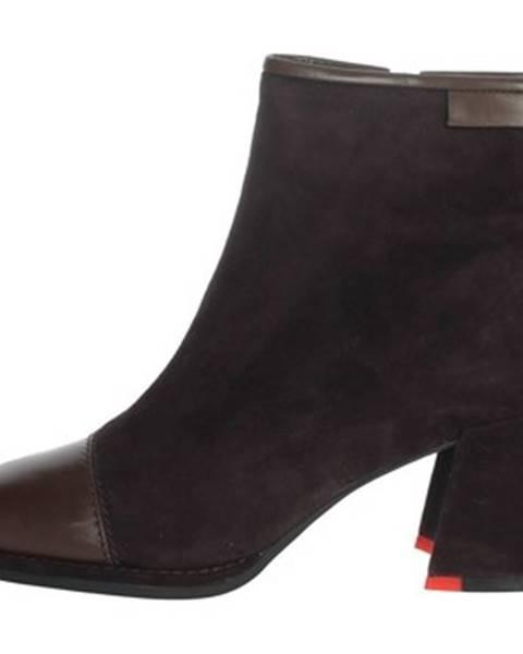 Hnedé topánky Nina Capri