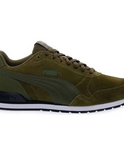 Zelené topánky Puma