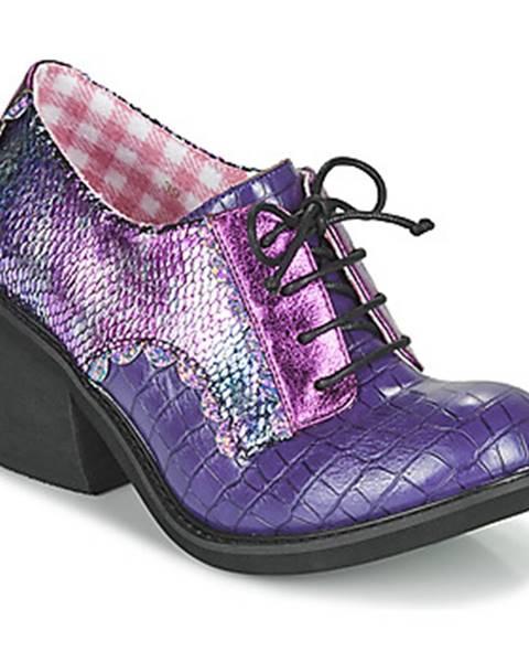 Fialové topánky Irregular Choice