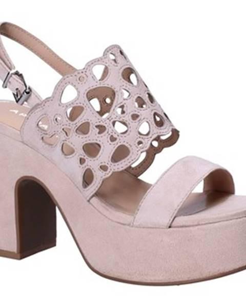 Ružové sandále Apepazza