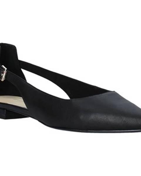 Čierne balerínky Tommy Hilfiger