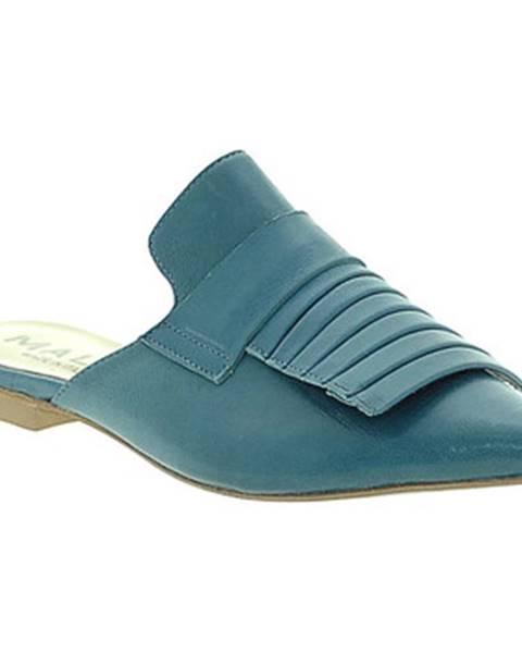 Modré topánky Mally