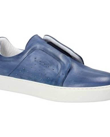 Modré espadrilky Exton