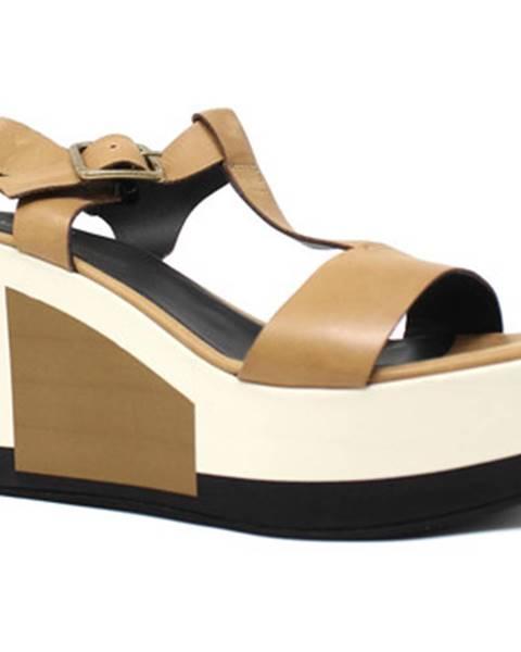 Hnedé sandále Marco Ferretti