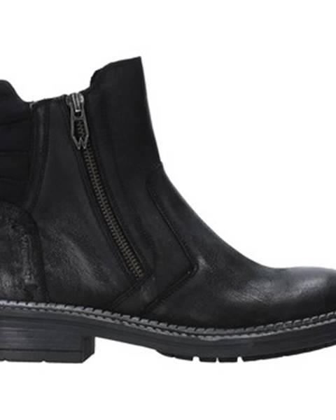 Čierne topánky Wrangler