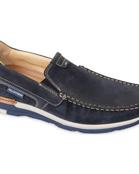 Modré topánky Valleverde