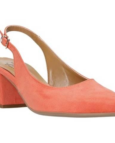 Oranžové lodičky Grace Shoes