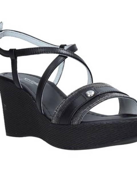 Čierne sandále Nero Giardini
